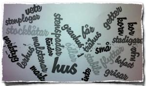 Wordled - arbete år 3