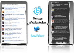Twitter #Vallaskolan