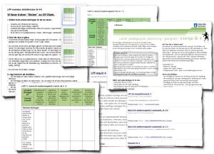 Lokala pedagogisk planering & Matriser