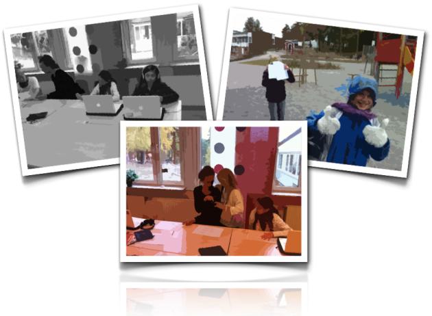 Digitalt berättande i samarbete med Kulturskolan