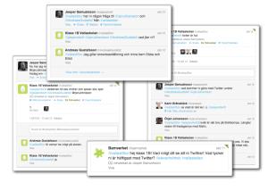 Twittrande elever - en uppgift på riktigt