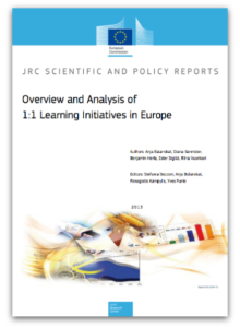 Overview and Analysis of 1:1 learning initiatives in Europe