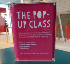 the pop up class